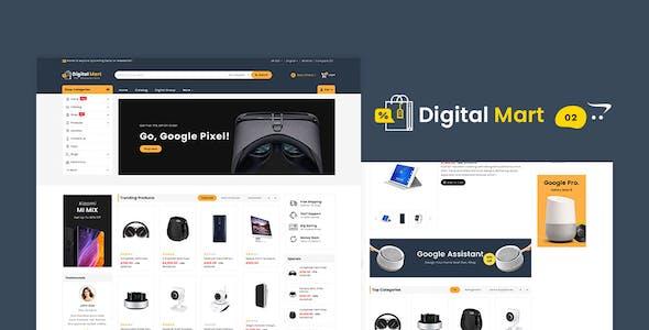 Digital Mart - Shopify Multi-Purpose Responsive Theme