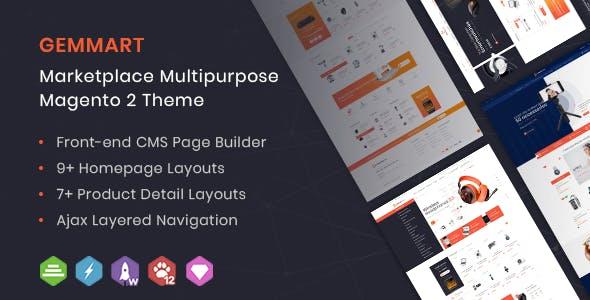 GemMart - Marketplace Multipurpose Magento 2 Theme