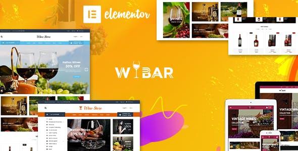 Wibar | Wine and Vineyard WooCommerce WordPress Theme