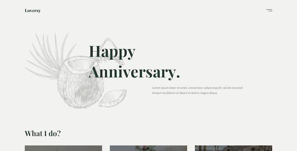 Loversy - Wedding Photography WordPress Theme