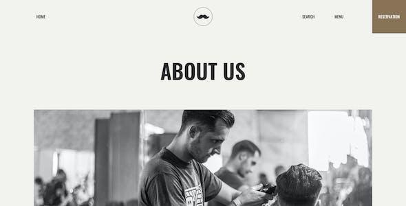 Chop - Barber Shop WordPress Theme