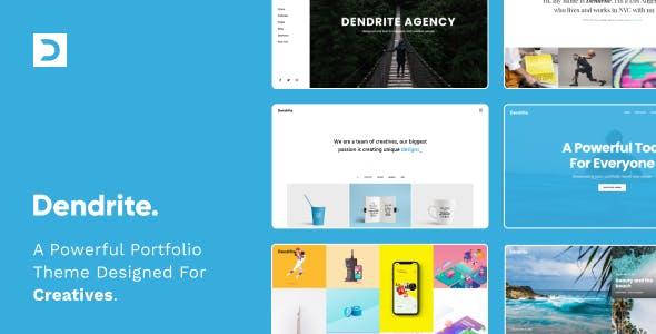 Dendrite - Creative Portfolio Theme
