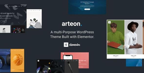 Arteon — Multi-Purpose WordPress Theme - Creative WordPress
