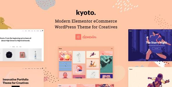 Kyoto - Innovative Portfolio Theme for Creatives - Portfolio Creative