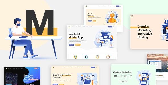 Milu - Tech and App Landing Page WordPress Theme - Software Technology