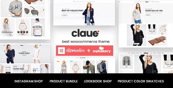 Claue - Clean, Minimal Elementor WooCommerce Theme - WooCommerce eCommerce