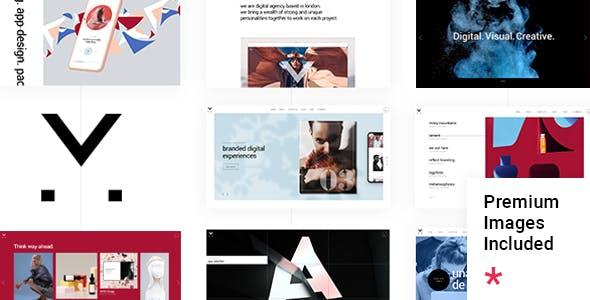 Malgré - Creative Agency Theme