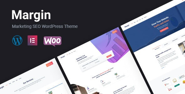 Margin   Elementor Marketing & SEO WordPress Theme - Marketing Corporate