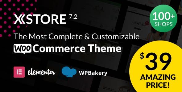 XStore |  Highly Customizable WooCommerce Theme & WordPress
