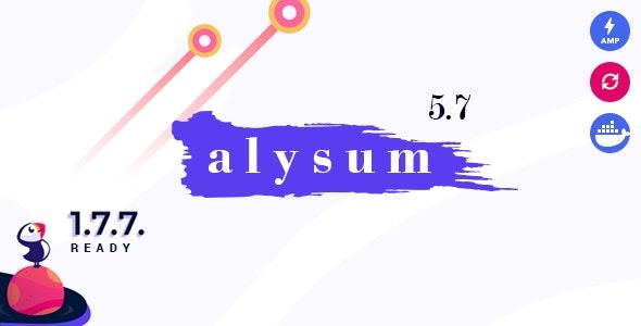 Alysum - Premium Prestashop AMP Theme - Shopping PrestaShop