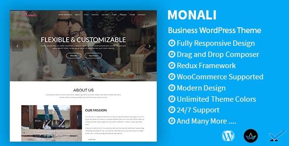 Monali - Business WordPress Theme - Technology WordPress