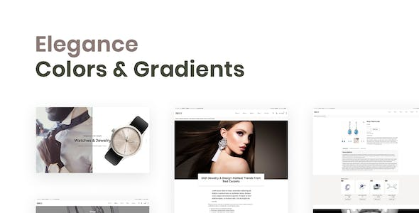 Brilly – Jewelry Store WooCommerce Elementor Template Kit