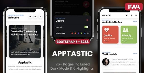 Apptastic Mobile - Mobile Site Templates