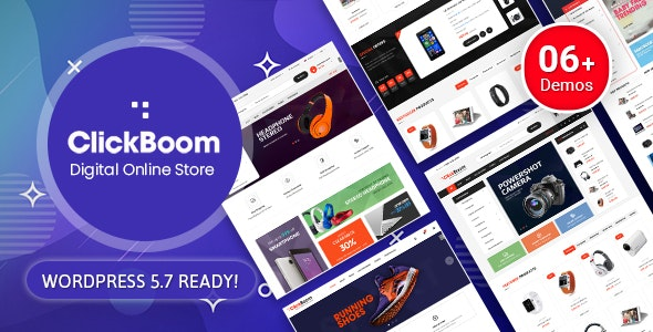 ClickBoom - Digital Store WooCommerce WordPress Theme (6+ Homepage Designs) - WooCommerce eCommerce