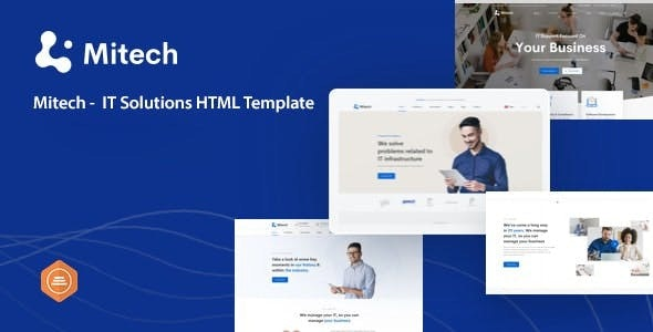Mitech -  IT Solutions And Services Company HTML Template - Software Technology