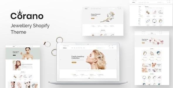 Corano – Jewelry Shopify Theme - Fashion Shopify