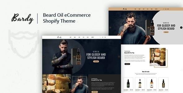 Bardy - Beard Oil Shopify Theme - Health & Beauty Shopify