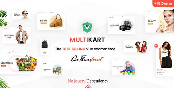 Multikart - Responsive Vuejs Nuxtjs eCommerce Template