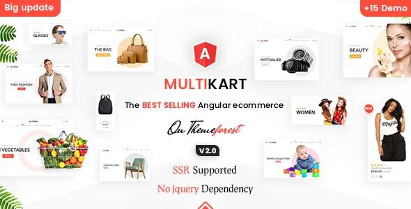 Multikart - Responsive Angular 12 eCommerce Template - Shopping Retail
