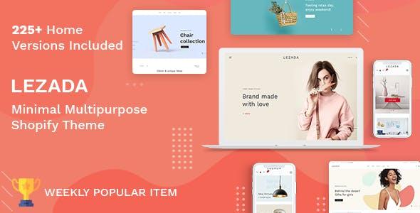 Lezada - Multipurpose Shopify Theme