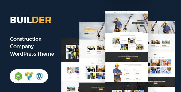 Builder - Construction WordPress Theme - Business Corporate