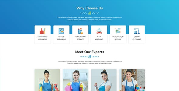 Clean360 - Cleaning, Pest Control Services HTML Template