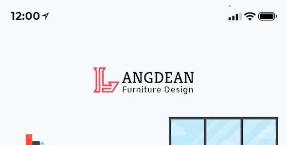 LangDean - Furniture Mobile App UI Kit