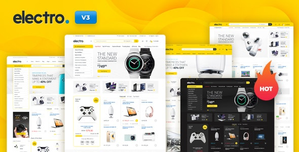 Electro Electronics Store WooCommerce Theme - WooCommerce eCommerce