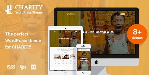 Charitix   Nonprofit Charity WordPress Theme