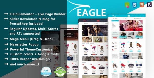 Eagle - Minimalist Shopping & Accessories PrestaShop 1.7 & 1.6 Theme - Fashion PrestaShop