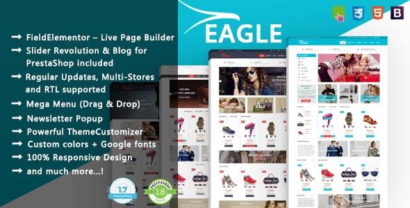 Eagle - Minimalist Shopping & Accessories PrestaShop 1.7 & 1.6 Theme