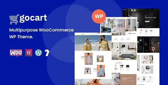 Gocart  - Multipurpose WooCommerce WordPress Theme - WooCommerce eCommerce
