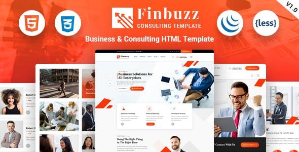 Finbuzz - Business HTML Template