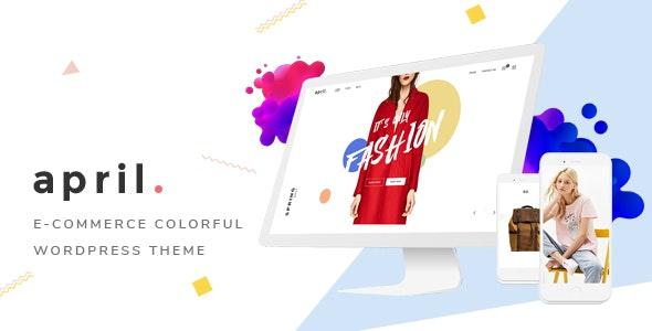 APRIL - Fashion WooCommerce WordPress Theme - WooCommerce eCommerce