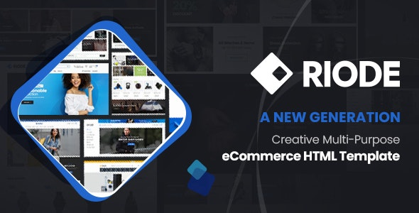 Riode - Ultimate eCommerce HTML Template - Shopping Retail