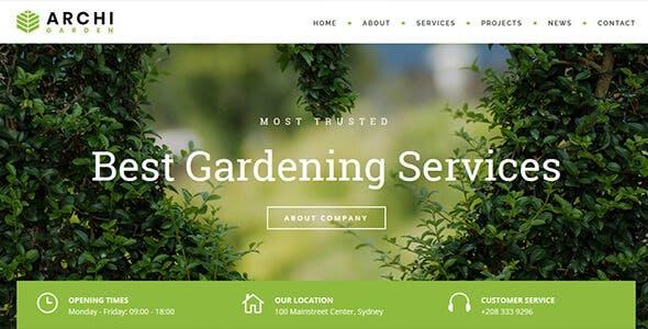 Archi - Interior Design & Multi-Purpose Website Template