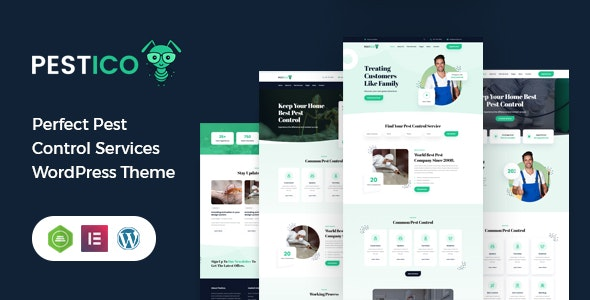 Pestico - Perfect Insect Control WordPress Theme - Business Corporate