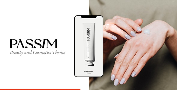 Passim - Beauty and Cosmetics Theme - WooCommerce eCommerce