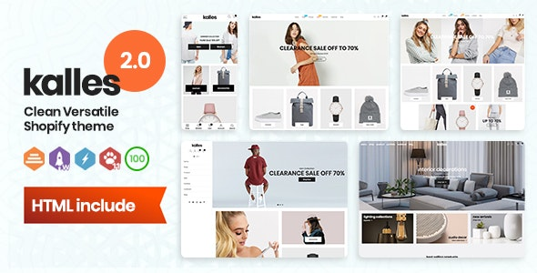 Kalles - Clean, Versatile, Responsive Shopify Theme - RTL support - Fashion Shopify