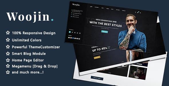 WooJin - Fashion Model and Clothing Responsive PrestaShop 1.7 Theme