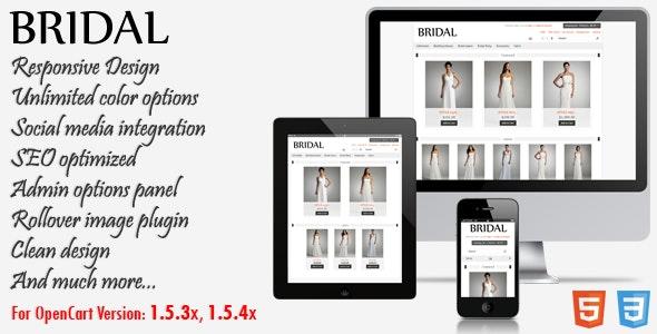 Bridal - Responsive OpenCart Theme - Fashion OpenCart