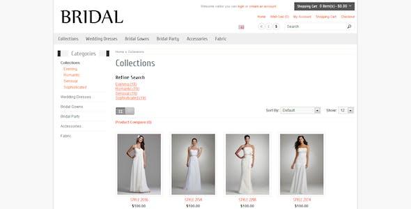 Bridal - Responsive OpenCart Theme