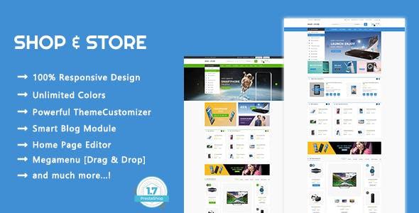 Shop & Store - Electronics & Digital Responsive PrestaShop 1.7 Theme