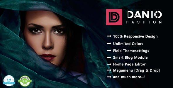 Danio - Minimalist Fashion Responsive PrestaShop 1.7 Theme