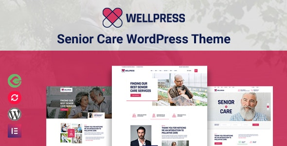 WellPress - Senior Care WordPress Theme - Health & Beauty Retail