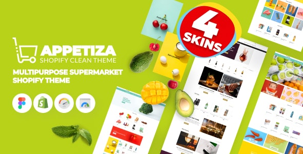 Appetiza - Supermarket Shopify Theme - Online Grocery Shop and Delivery - Shopping Shopify