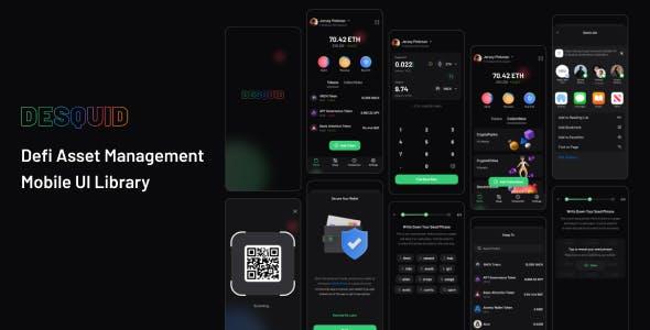 DeSquid Mobile Crypto Wallet