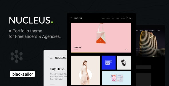 Nucleus: Portfolio WordPress Theme - Portfolio Creative