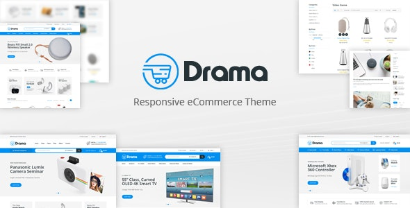 Drama v1.0 – Responsive OpenCart Theme (Included Color Swatches)