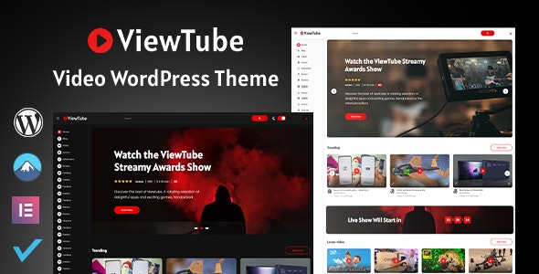 ViewTube | Video WordPress Theme - Film & TV Entertainment